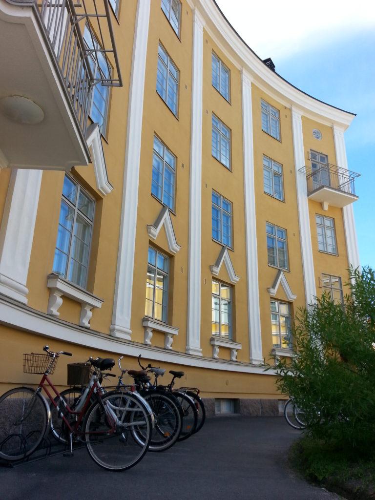 Inspiraatiota Oulusta: kaareva rakennus on ilo silmälle.