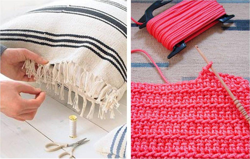 Ideoita terassille: helpot tekstiilipäivitykset valmistuvat hetkessä.