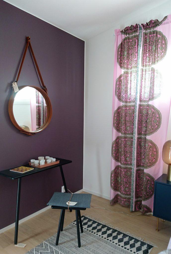 Asuntomessut 2016: Messuilla näkyi ilahdutavan paljon rohkeaa värien käyttöä erityisesti tekstiileissä