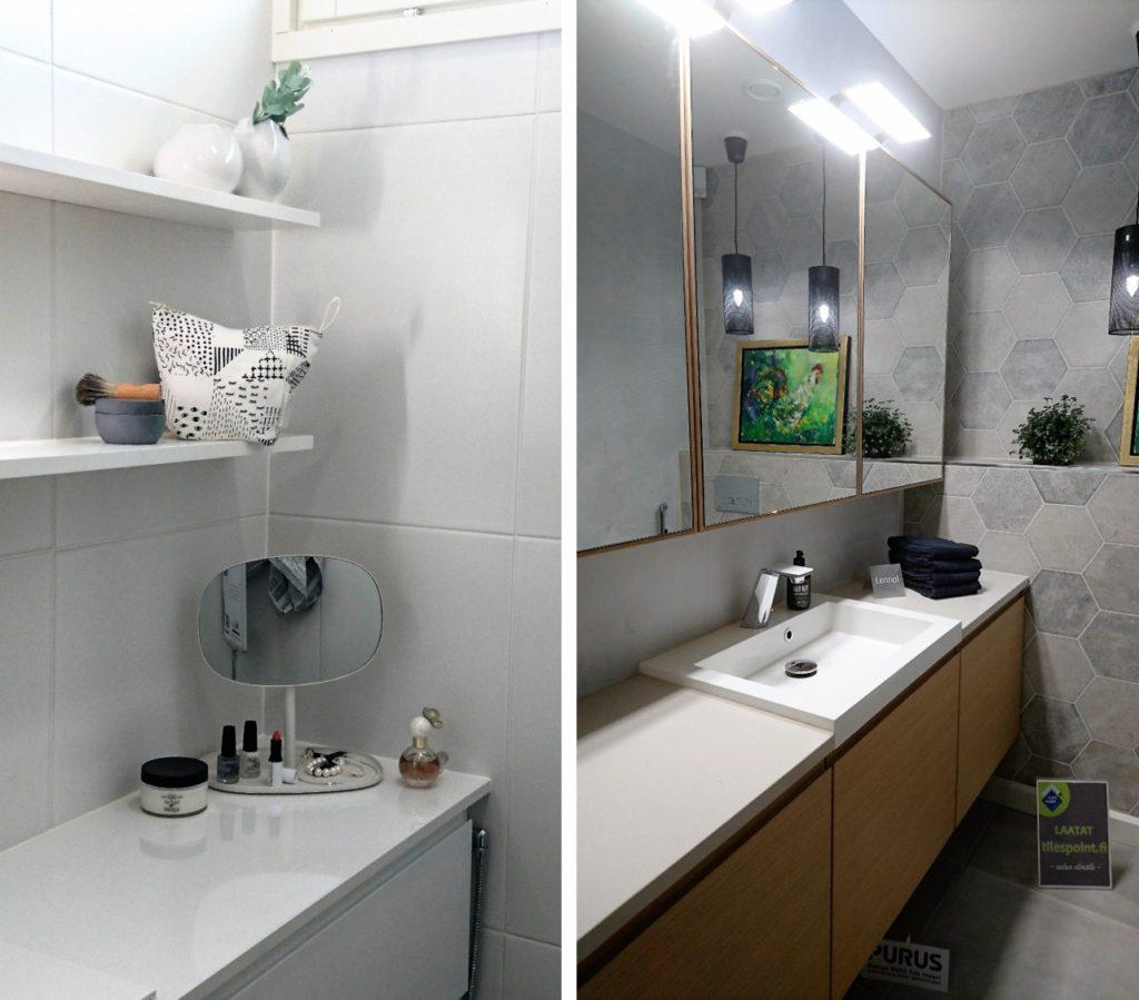 Sisustusinspiraatoita asuntomessuilta: Yksityiskohtia wc:n sisustamiseen