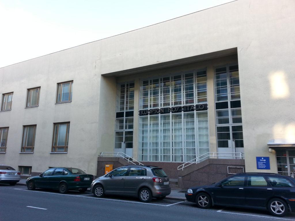 Selkeät linjat ja yksinkertaisuus tekevät tästä rakennuksesta vaikuttavan.