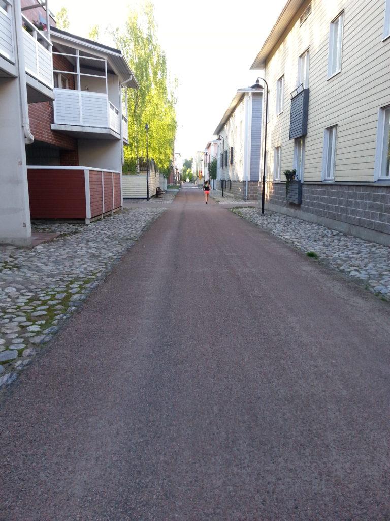 Kuopion yksi ainutlaatuisimmista piirteistä ovat rännikujat.