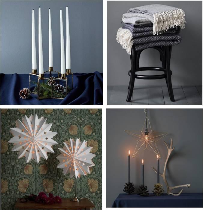 Hemtex tarjoaa ylellisen lämmintä joulutunnelmaa pehmoisten tekstiilien ja tunnelmallisten kynttiläratkaisujen muodossa.