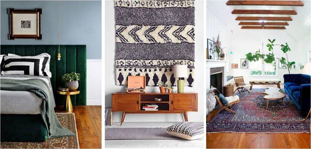 Kodikkuutta ja pehmeyttä saadaan isoilla tekstiilipinnoilla, lisäksi kaikuminen vähenee huomattavasti.