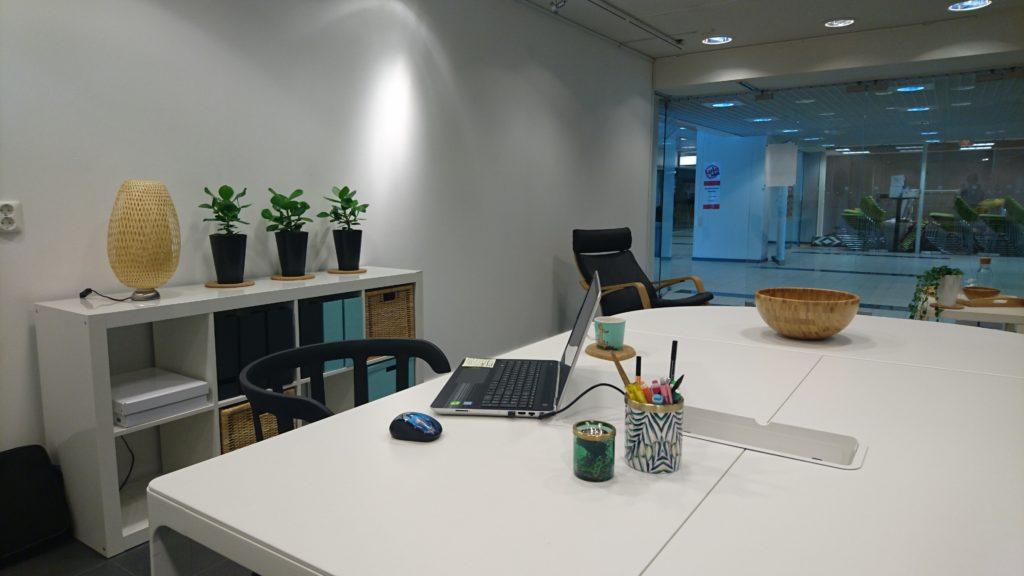 Uusia tuulia: toimiston sisustus