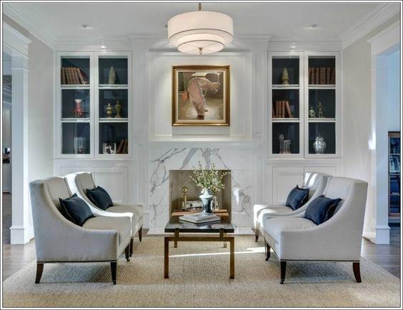 Sisustusvinkit: Siirrä huomion keskipiste huoneen keskelle huonekalujen asettelulla.
