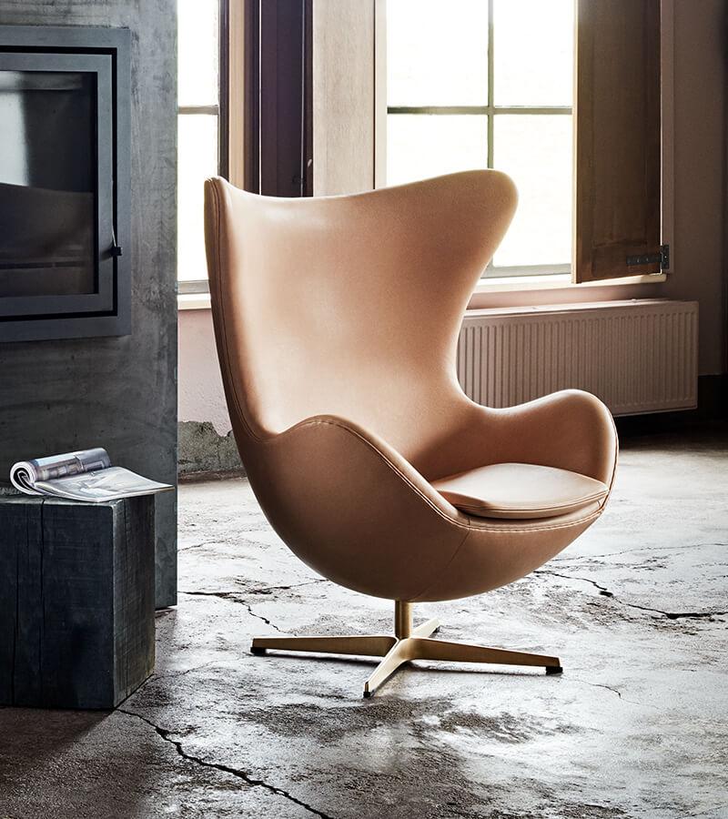Sisustushaave numero 1: Arne Jacobsenin Egg-tuoli.